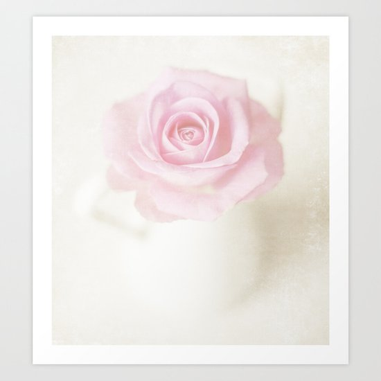 You used to give me roses Art Print