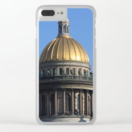 The dome of St. Isaac's Cathedral. Clear iPhone Case