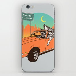 On The Prowl iPhone Skin