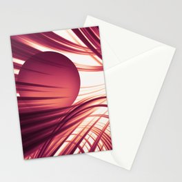 Abstract 187 Stationery Cards