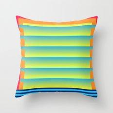 Gradient Fades v.2 Throw Pillow