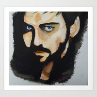 hook Art Prints featuring Hook by Brittany Ketcham