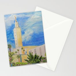 Los Angeles California LDS Temple Stationery Cards