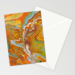 Orange Fizz Stationery Cards
