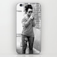britney spears iPhone & iPod Skins featuring Britney Spears B&W by KBK24