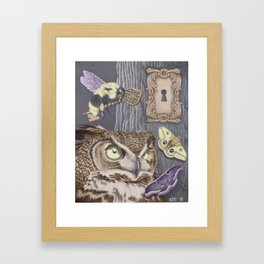 Keepers of Forbidden Knowledge Framed Art Print