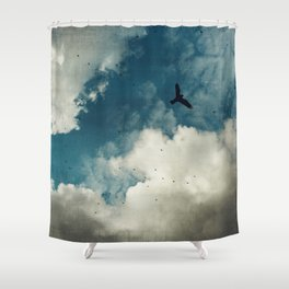 Same Old Sky Shower Curtain