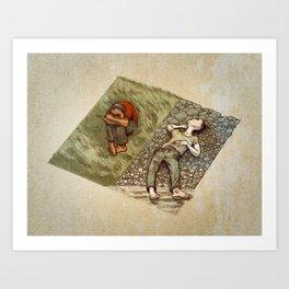 Crooked Creek #2 Art Print