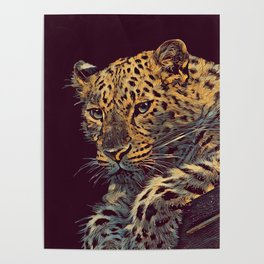 THE LEOPARD 002 - The Dark Animal Series Poster