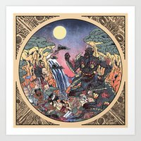 The Villains—The T'ao Ti'ie  Art Print