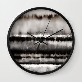 Beyond The Reflection Wall Clock