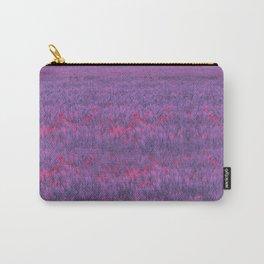 purple poppy field I Carry-All Pouch