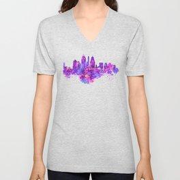 Cincinnati Skyline Unisex V-Neck
