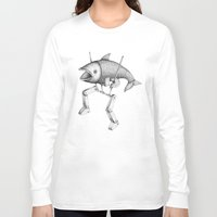 evolution Long Sleeve T-shirts featuring 'Evolution I' by Alex G Griffiths
