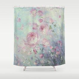 Dancing Petals Shower Curtain