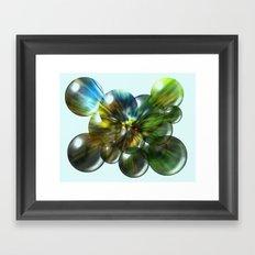 Magic Balls Framed Art Print