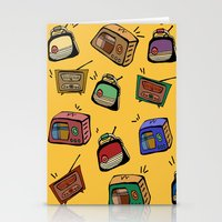 radio Stationery Cards featuring Radio Show by andy_panda_