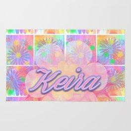 Pink Floral - Keira Rug