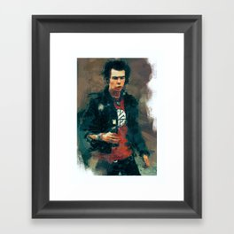 Sid Vicious Framed Art Print