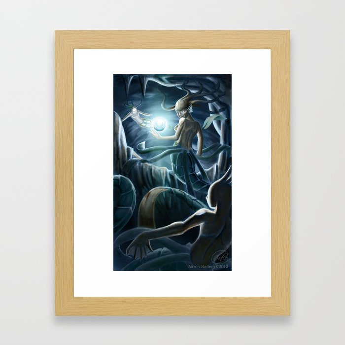 Sea Witch Framed Art Print