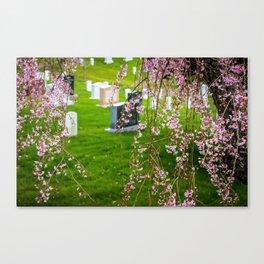 Arlington National Cemetery Canvas Print