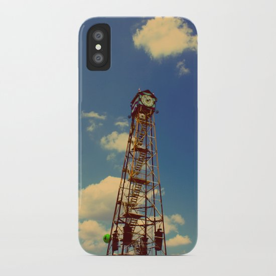 CLOCK TOWER iPhone Case