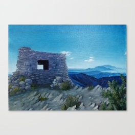 Kiwanis Cabin in Sandia Mountains Canvas Print