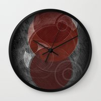mars Wall Clocks featuring Mars by Nick Volkert