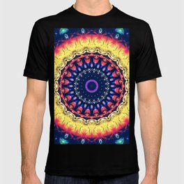 Colorful Flower Mandala T-shirt