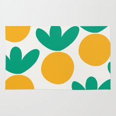 Minimalist Fruit Summer Pattern Rug