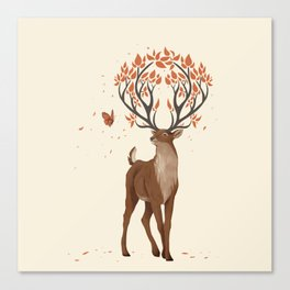 The Forest Guardian Canvas Print