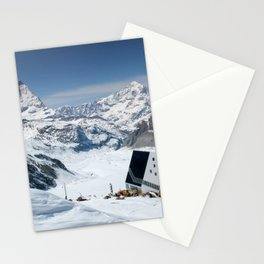Monte Rosa and Matterhorn in Switzerland Stationery Cards