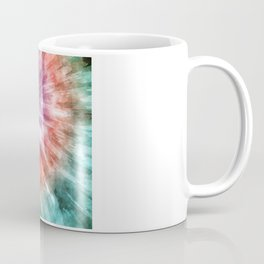 Color Filled Tie Dye Coffee Mug
