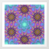 meditation Art Prints featuring Meditation by David Zydd