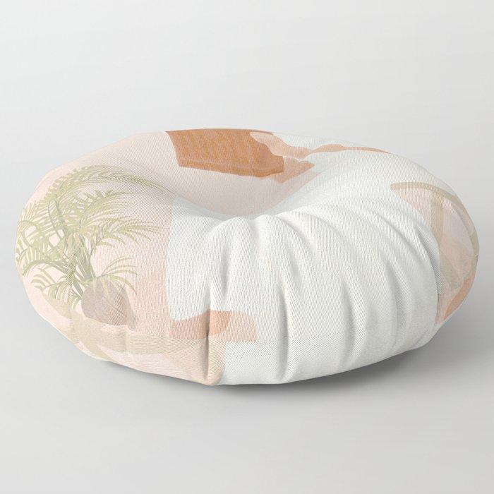 Lost Inside Floor Pillow