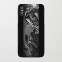 zombie iPhone & iPod Cases featuring Zombie by Andrea Mangiri