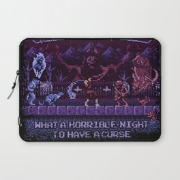 Simon's Vania Castle Quest Laptop Sleeve