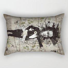 Mr. Hungry Rectangular Pillow