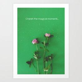 Magical summer | Flower Photography Art Print