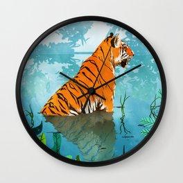 Tiger Creek Wall Clock