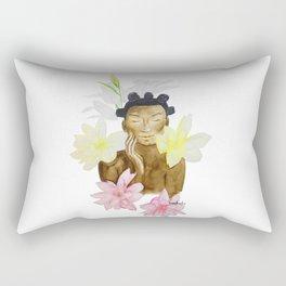 Feeling myself Rectangular Pillow