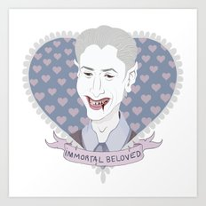 Immortal Beloved Art Print