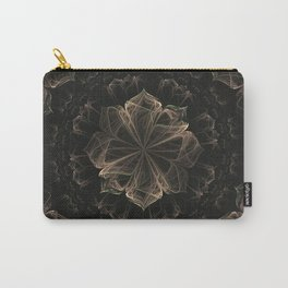 Ornate Blossom Carry-All Pouch
