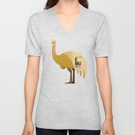 Hello Emu Unisex V-Neck