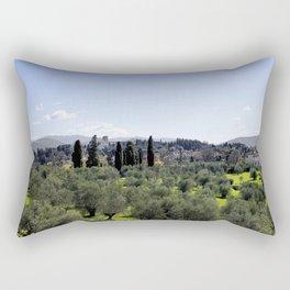 Tuscan Hills Rectangular Pillow