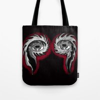 tool Tote Bags featuring Tool Aura by SnowVampire