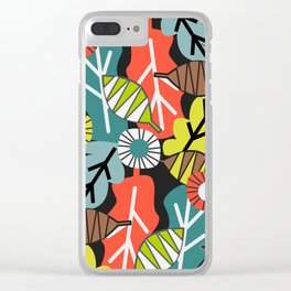 They fall in autumn Clear iPhone Case