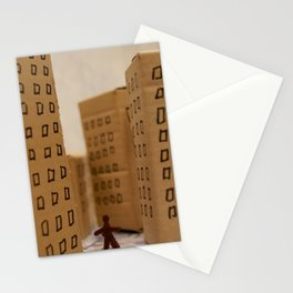 Urban life neurosis Stationery Cards