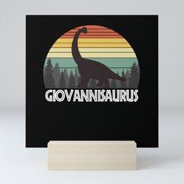 GIOVANNISAURUS GIOVANNI SAURUS GIOVANNI DINOSAUR Mini Art Print