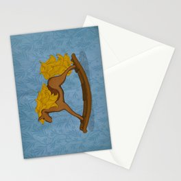 Peta approved racehorse Stationery Cards